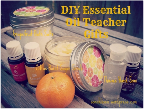 DIY EO teacher gifts